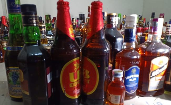 Andhra Pradesh Government To Run 500 Liquor Shops From September 1st - Sakshi