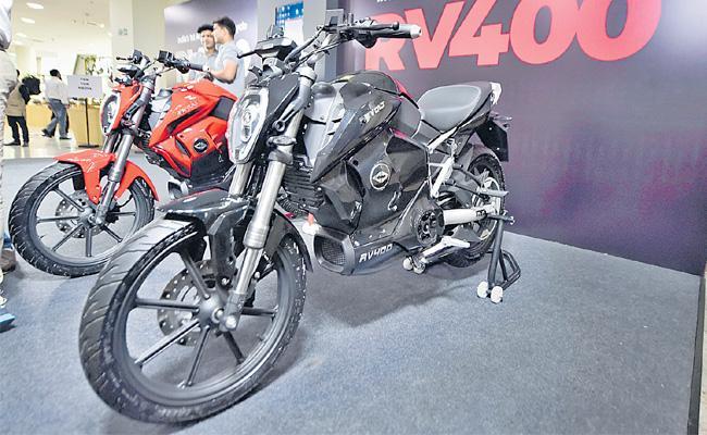 RV 400 Electric Bike Launch in Indian Market - Sakshi
