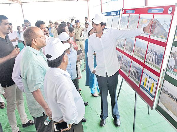 Collectors of all districts who visited the Kaleshwaram Project - Sakshi