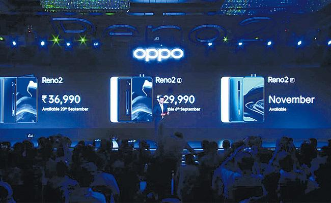 Oppo Reno2 Series Launch in India - Sakshi