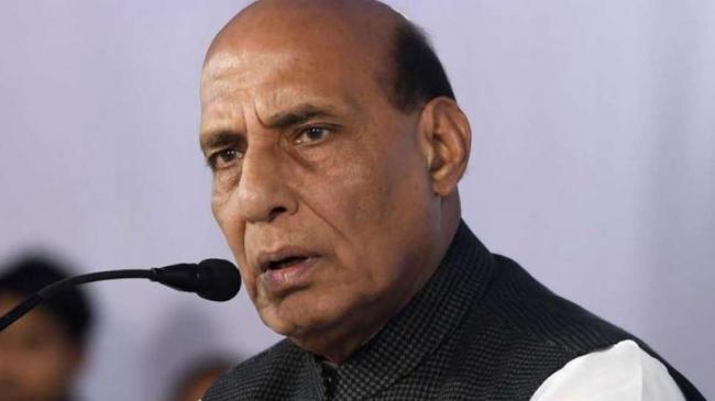 Rajnath Singh Warns Pakistan On Kashmir - Sakshi