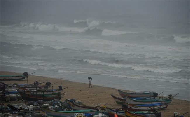 Depression In Bay Of Bengal - Sakshi