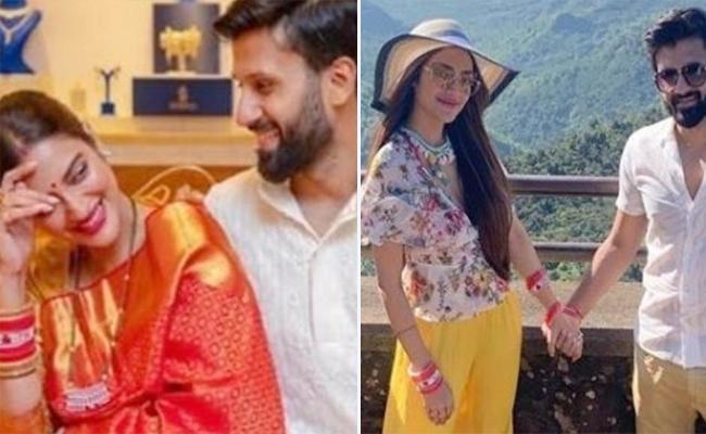 Nusrat Jahan enjoys honeymoon with Husband Nikhil - Sakshi