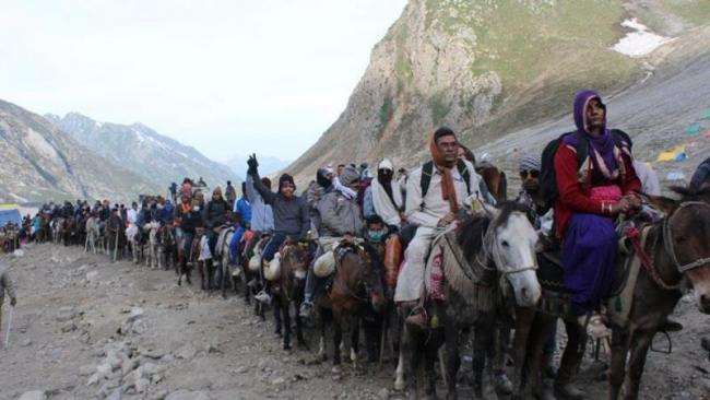 Why Central government decided to curtail the Amarnath yatra - Sakshi