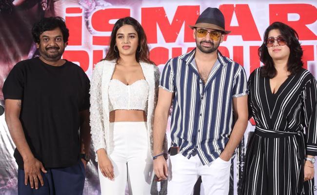 Ram, Puri Jagannadh's iSmart Shankar Blockbuster Success Meet - Sakshi