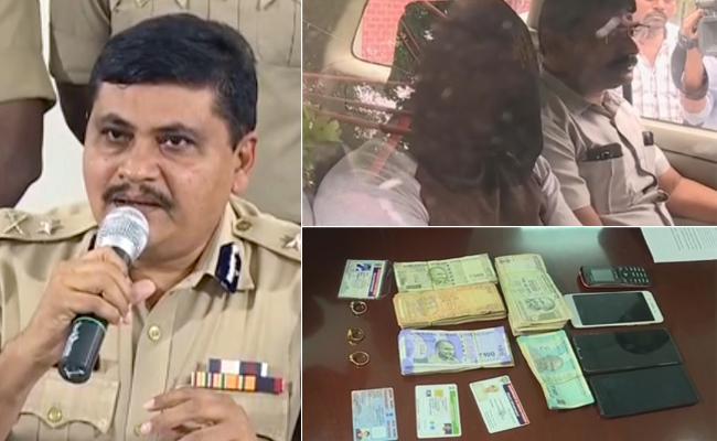 Rachakonda Police Press Meet About Soni Kidnapper Ravi Shekhar - Sakshi
