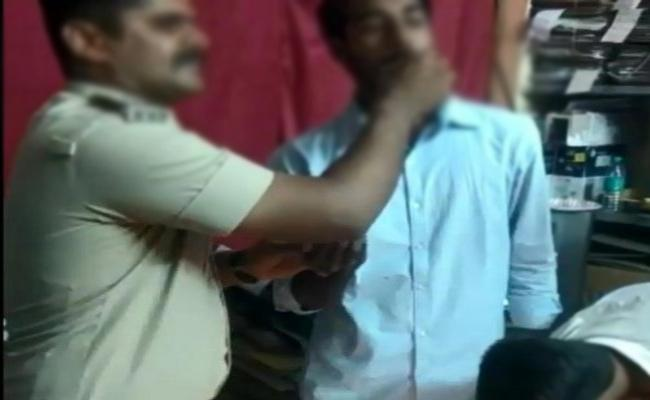 Remand Prisoner Birthday Celebrations in Police Station Video Viral - Sakshi
