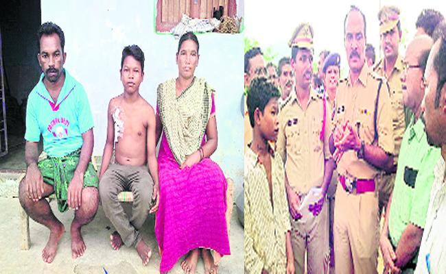A Boy Facing Kidney Problem In Srikakulam - Sakshi