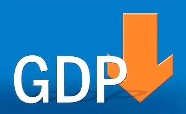 Q1 GDP Growth crashes to 5 Percent  - Sakshi