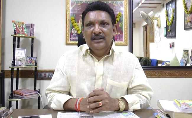 YSRCP MLA Grandhi Srinivas Fires On TDP Leaders - Sakshi