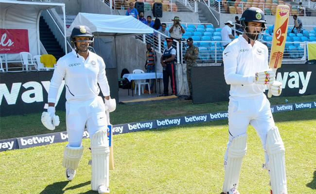 India, West Indies Second Test Match at Kingston - Sakshi