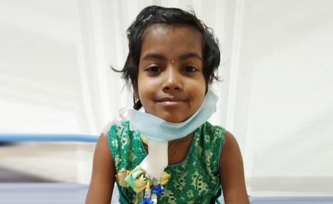 Child Dies Of Cancer In Srikakulam District - Sakshi