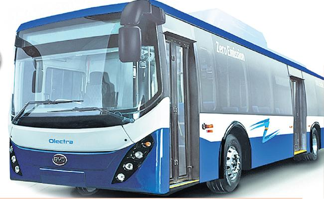 AP Government To Introduce 1000 Electric Buses  - Sakshi