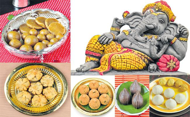 Vinayaka Chavithi Food Special Story - Sakshi