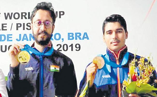 India Won Two Medals In Shooting World Cup At Brazil - Sakshi