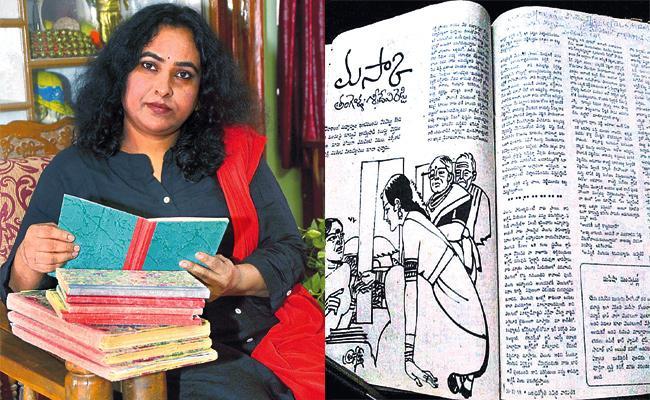 Writer Tangella Sridevi Reddy Special Story - Sakshi