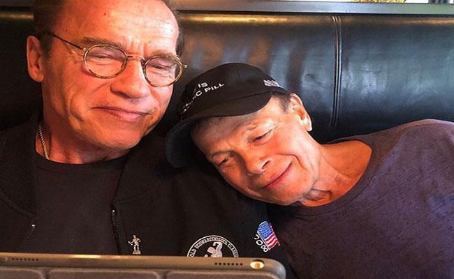 Arnold Schwarzenegger Friend Franco Dies - Sakshi