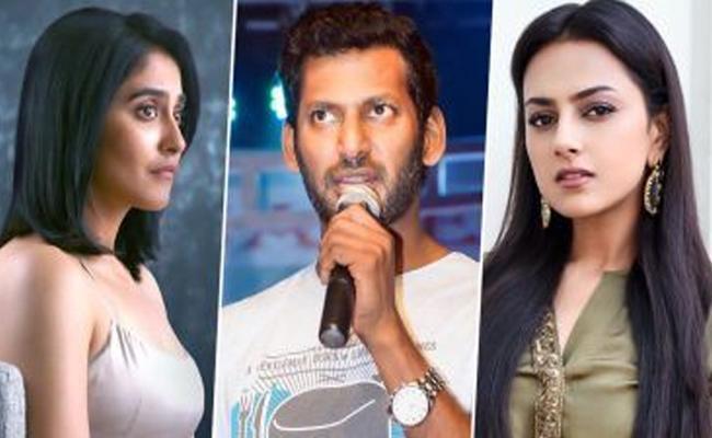 Regina And Shraddha Srinath Act In Vishal Next Film Irumbu Thirai 2 - Sakshi