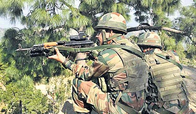 Indian Army neutralises Pakistan BAT team infiltration in Keran sector - Sakshi