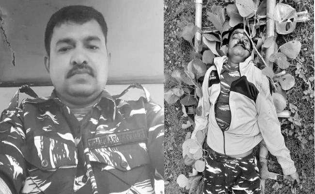 CRPF Jawan From Miryalaguda Died By Slipping From Train In Jharkhand - Sakshi