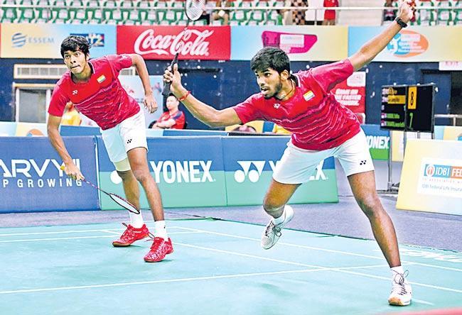Satwiksairaj Rankireddy-Chirag Shetty Enter finals - Sakshi