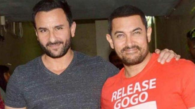 Aamir Khan, Saif Ali Khan to star in Hindi remake of Vikram vedha - Sakshi