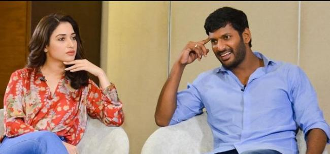 vishal, thamanna next movie shooting in rajasthan - Sakshi