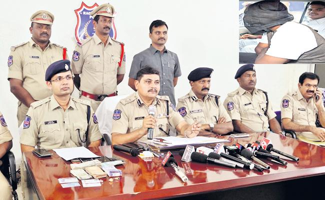 Police Department Arrest Culprit In Rangareddy - Sakshi