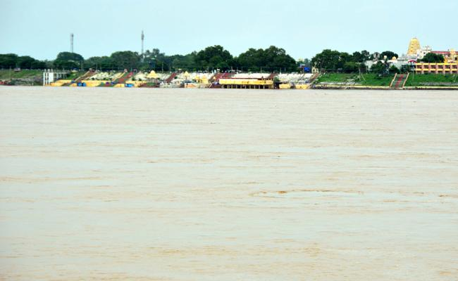 Godavari River Heavy Water Flow In Khammam - Sakshi