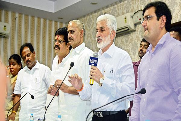 Vijayasai Reddy Comments About Waltair railway division - Sakshi
