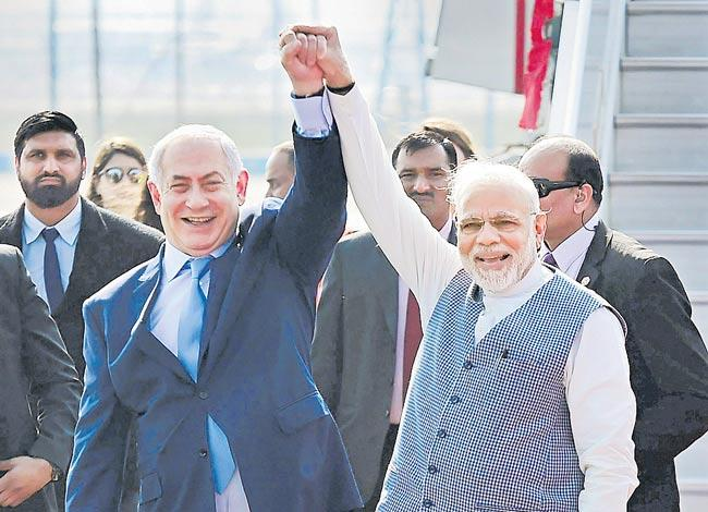 Israel, India bond over Twitter on Friendship Day - Sakshi