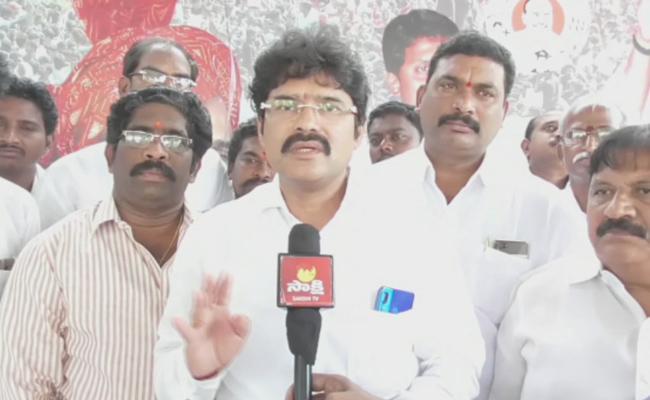 Yadla Thathaji Fires On TDP MLA Ramanaidu - Sakshi