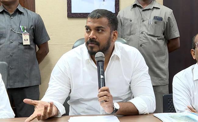 anil kumar yadav slamsTDP false propaganda over Polavaram project - Sakshi
