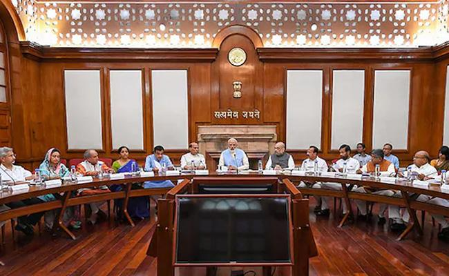 Cabinet Meeting On Kashmir Issue Chaired By Modi - Sakshi
