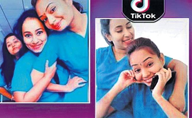 Employees Negligence on Duty Tik Tok Videos Posting in Social Media - Sakshi