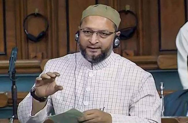 Asaduddin Owaisi Oppose Scrapping Article 370 - Sakshi