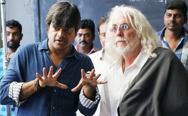 Hollywood Cinematographer Robert Richardson Visits Valmiki Sets - Sakshi