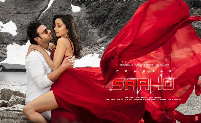 Saaho Producers Thanking Note To Producers - Sakshi
