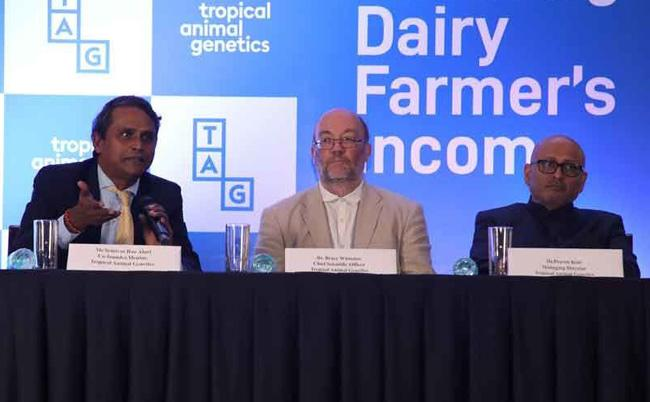 TAG Unveils Platform To Support Dairy Farmers - Sakshi