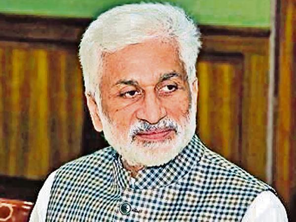 YSRCP Support to the Jammu and Kashmir Reorganization Bill - Sakshi