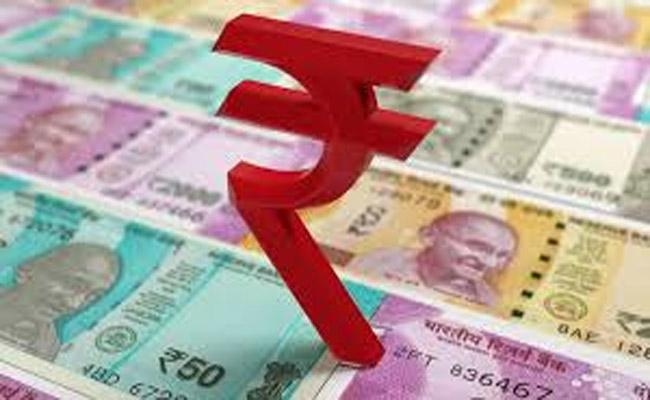Rupee logs 4th straight loss down 8 paise at 70.81 against USD   - Sakshi