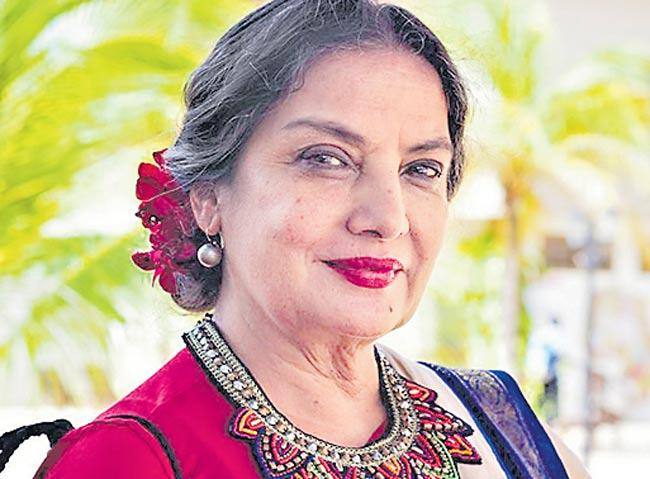 Shabana Azmi to feature in Steven Spielberg's series Halo - Sakshi