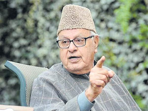 Farooq Abdullah Comments About Dividing of Jammu and Kashmir - Sakshi