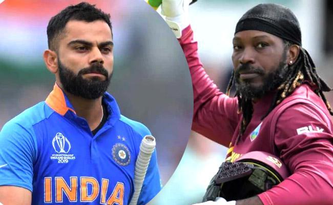 Kohli on The Cusp of ODI Milestones Against West Indies - Sakshi