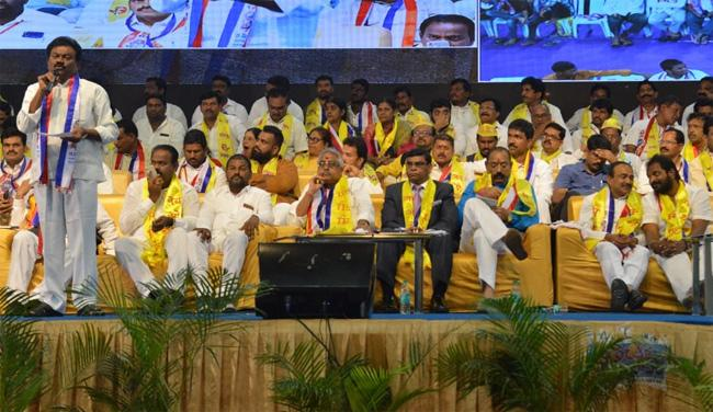 OBC Mahasabha Meeting Held In Saroor Nagar Indore Stadium - Sakshi