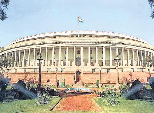 YSRCP MPs blocked Manish Tiwari speech - Sakshi