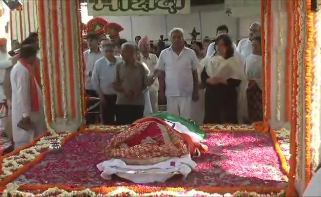 Sushma Swaraj Passes Away - Sakshi