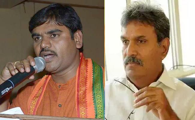 BJP Leader Vishnuvardhan Reddy Slams MP Kesineni Nani - Sakshi
