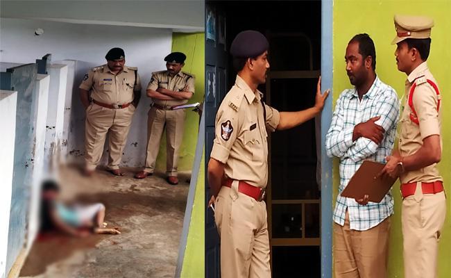 Third Class  Student Murdered In BC Hostel Krishna District - Sakshi