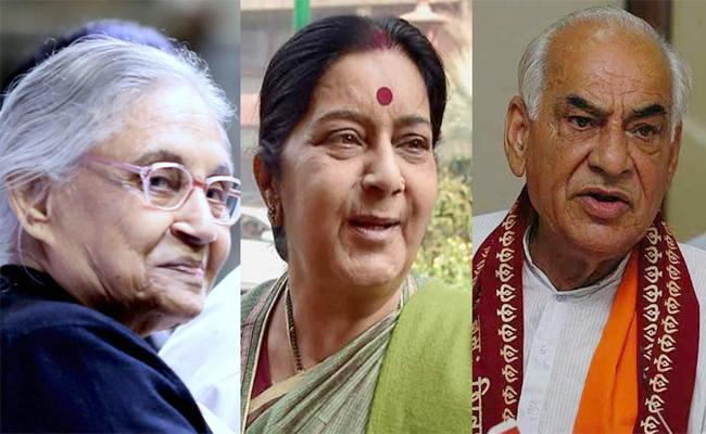Three Former Delhi Chief Ministers Died In Less Than A Year - Sakshi